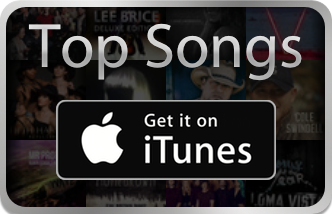 Top songs on Apple iTunes