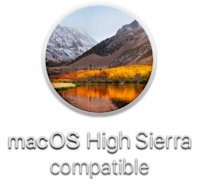 macOS High Sierra Compatible