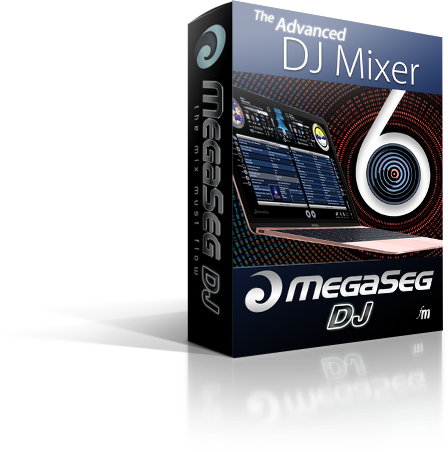 MegaSeg DJ Software Box
